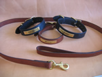 personalized collars and leash