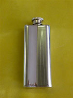 Knot Panel Slim Flask 2oz (Back)